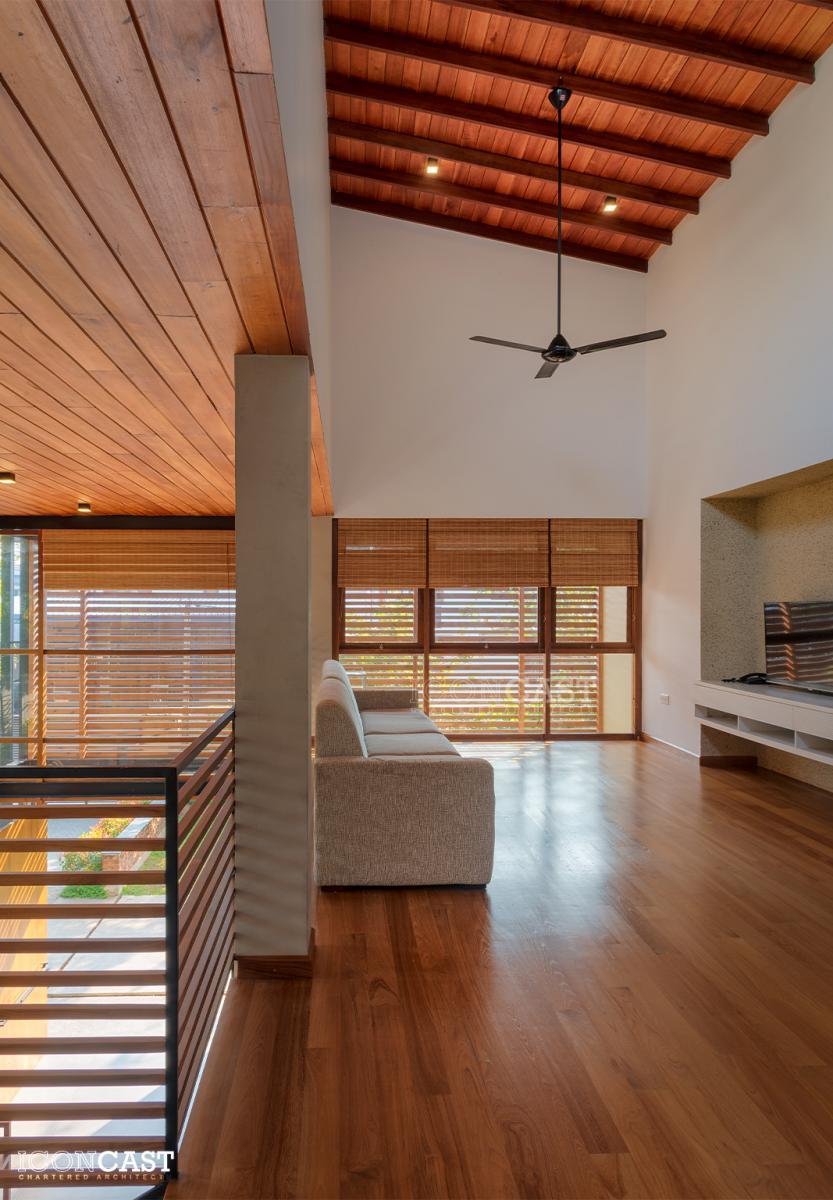 Architect Sri Lanka Residence Gihan Muthugala Iconcast Architect 2019 House Design Renovation Moratuwa Transparent Modern Timber Steel Landscape Steel Glass
